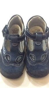 Dettagli su M kids summer scarpe bambino N° 21 chiusura a strappo colore blu USATE