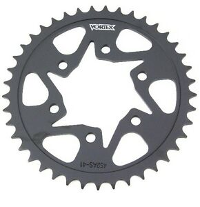 Vortex 454S-42 Black 42-Tooth 525-Pitch Steel Rear Sprocket