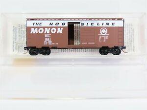 N-Scale-MTL-Micro-Trains-20486-CIL-Monon-Hoosier-Line-40-039-Box-Car-861-RTR-Model