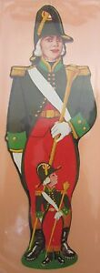 Antique-Brand-Pages-Bookmark-Advertising-Soldier-Man-Child-Marine-Louis-XVI