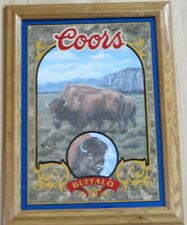 BUFFALO - Coors Beer Mirror