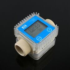 K24 Lcd Digital Fuel Flow Meter Widely Used For Chemicals Liquid Urea Water