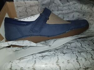 5 Zapatos Eu38 Stone Uk5 Ladies cuero Navy Autumn Us7 Clarks de de Nubuck Tamaño OqAw4I