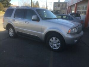 2005 Lincoln Aviator, AWD ,Auto,  One Owner 142000km