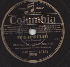 Nullo Romani Orchester + Hawaii Guitarren : Nuits Napolitaines + Valse de Minou