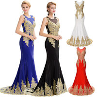 New Sexy Formal Wedding Dress Gown Party Cocktail Evening Long Maxi Prom Dresses