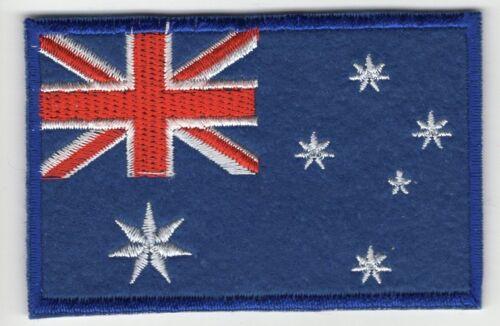 Australia Flag Patch Felt Embroidered Iron On Applique