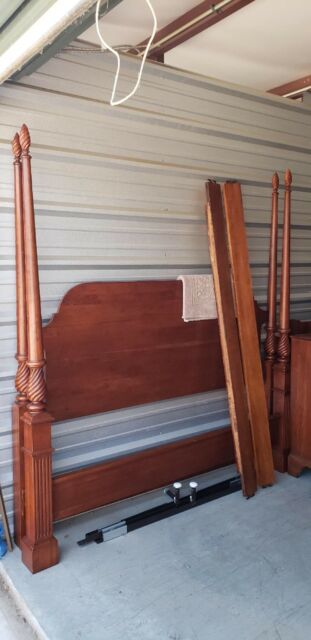 BOB TIMBERLAKE SOLID CHERRY KING POSTER BED MADE In USA BY
