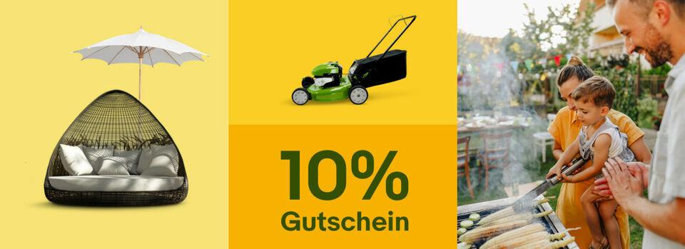 10%-Gutschein* für deinen Sommer – Jetzt sparen - 10%-Gutschein* für deinen Sommer