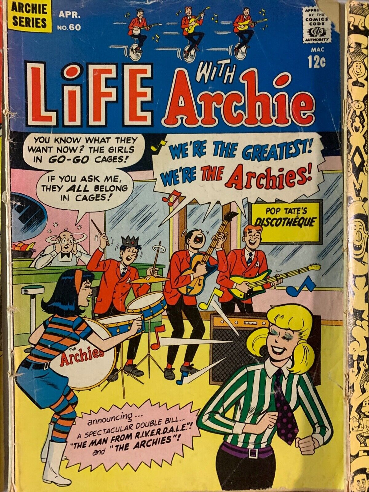 Archie Series 24 Comic Silver Age LOT Betty and Veronica