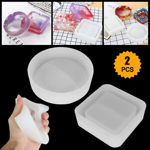 Silicone-Ashtray-Mold-Resin-Jewelery-Making-Mould-Casting-Epoxy-DIY-Craft-Tool
