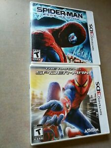 Nintendo-3DS-Games-The-Amazing-Spider-man-Spider-man-Edge-offre-Time-Lot