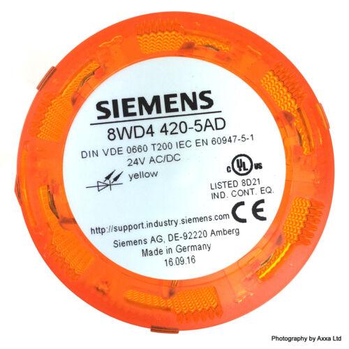 Signalling column Steady Light LED 8WD4420-5AD Siemens Yellow 8WD44205AD