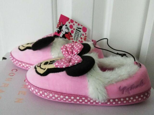 Disney Minnie Mouse Zip Slipper Booties