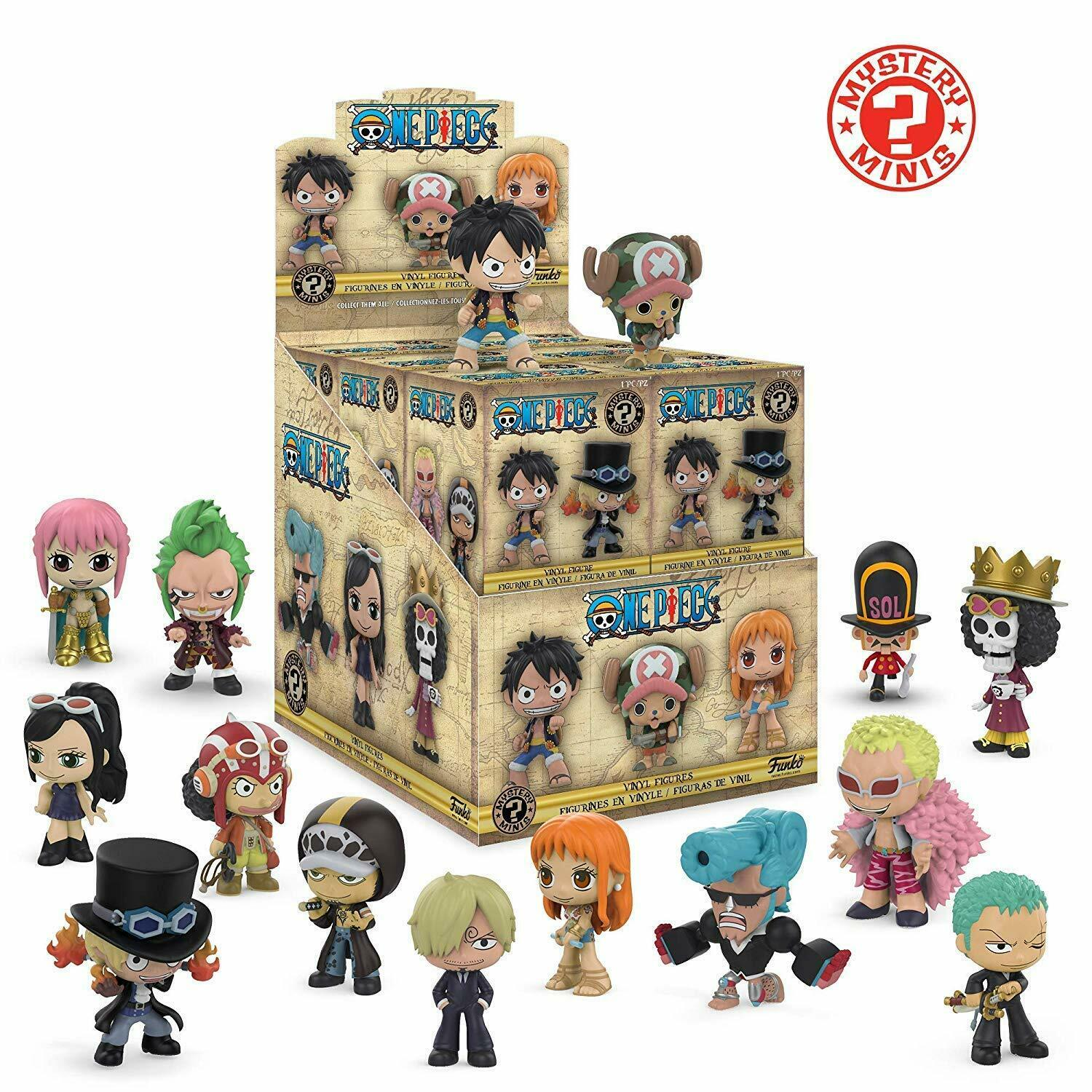 Funko One Piece Mystery Mini Blind Box Display (Case of 12)