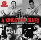 4 Kings of the Blues: The Absolutely Essential by Various Artists (CD, Oct-2014, 3 Discs, Big 3)