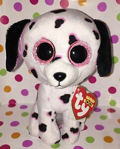 "6/"" Reg Size Ty Beanie Boo Isla the Dog Claire/'s Exclusive"