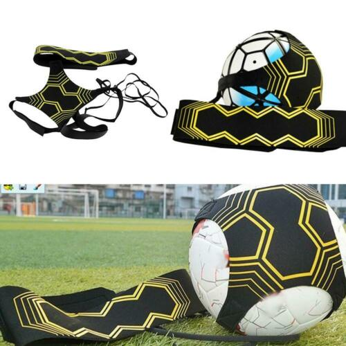 Adjustable Football Kick Trainer Soccer Train Equipment Practice Elastic Belt