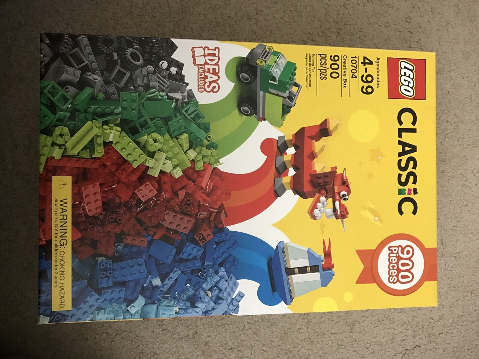 LEGO 10704 Classic Creative Box 900 Pieces Brand New Never Opened