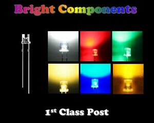 Wide-Angle-LEDs-3mm-5mm-Red-Blue-White-Green-Yellow-Orange-Warm-White-UK