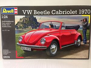 +++ Revell VW Beetle Cabriolet 1970 1:24 07078