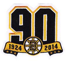 2013 2014 Boston Bruins 90th Anniversary Season Jersey Logo Patch NHL Official