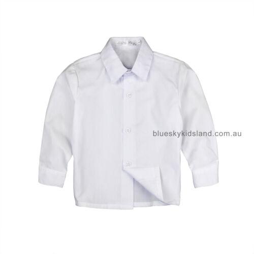Wedding and Communion sz 000–16 NWT Boys Button Up Long Sleeve Shirt Formal