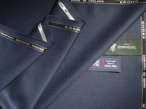 """Dormeuil /""""KRONO/"""" LAINE drap /""""Tache de design/"""" Tissu made in England 3.4 M"""