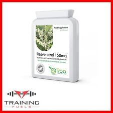Resveratrol 150mg 90 Capsules Cardiovascular Healthy Immune System Troo Health