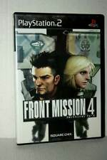 FRONT MISSION 4 GIOCO USATO SONY PS2 EDIZIONE GIAPPONESE NTSC/J GD1 48739