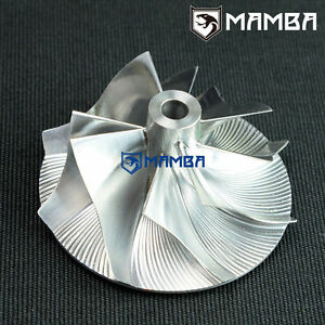 Details about MAMBA Turbo Billet Compressor Wheel for IHI RHF3 (24 2/37 mm)  4+4 / Bore 4 41