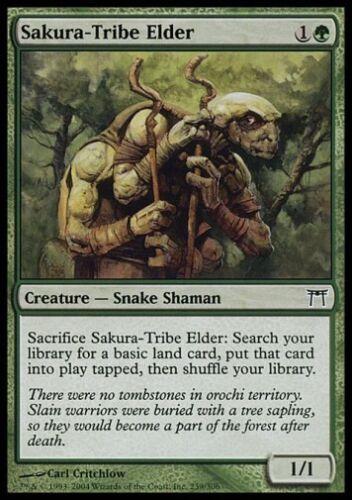 CoK *Top Snake* MTG 4x SAKURA-TRIBE ELDER