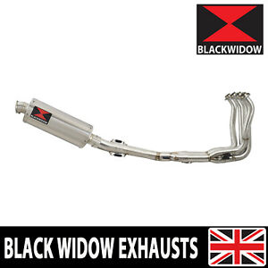 KAWASAKI Z900RS & Cafe 4-1 Exhaust System Oval Stainless Muffler 300SS