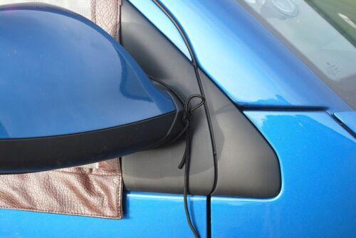2 CABINA qualità Finestra Zanzariere 4 VW T5//T6 CAMPE con magneti Brown C9074