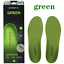 Superfeet GREEN Insoles Professional-Grade High Arch Orthotic Green Size:BCDEF