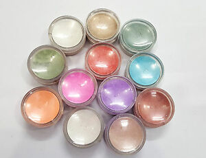 MAKE A GLAMOUR FROM EYECARE 12 COLOR THIN GLITTER FOR BEAUTY QUEEN