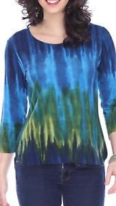NEW Parsley & Sage Plus Art to Wear Ariel High-Low Top Crewneck Blouse Tunic 3X