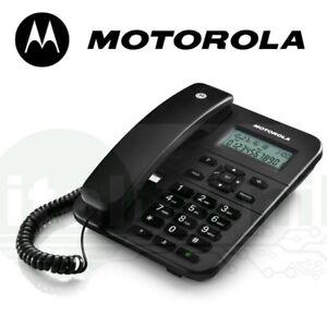 TELEFONO-FISSO-DA-SCRIVANIA-DISPLAY-VIVAVOCE-MEMORIE-OTTIMO-PER-CENTRALINO