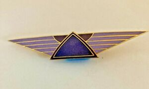 Vintage-Isle-of-Skye-Purple-Wings-Brooch-enamel-and-gold-tone