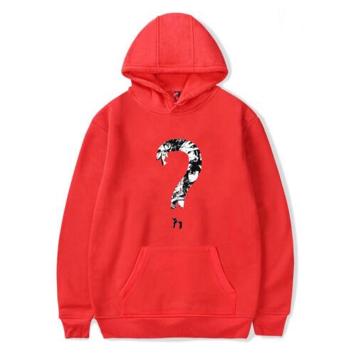 XXXTentacion Hoodie Men Casual Sweatshirt Plus Size Bad Vibes Forever Rapper hot