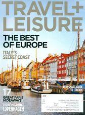 2012 Travel & Leisure Magazine: Copenhagen/Paris/Italy's Secret Coast/Cruise