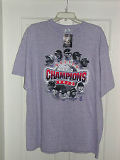 2013 BOSTON RED SOX WORLD SERIES CHAMPIONS PLAYERS T SHIRT ADULT SIZE XL GRAY