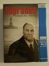 The Sopranos Season 6 Part 2 Blu Ray Brand New Sealed