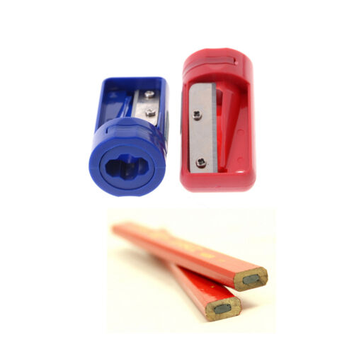 Carpenter Woodwork Pencil Sharpener Cutter Shaver Narrow Sharpening Tool Gift BB