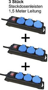 3-Stueck-Steckdosenleiste-Mehrfachstecker-Schalter-IP44-McPower-38603-Aussen