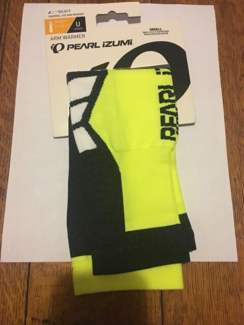 Pearl Izumi Select Thermal Lite Arm Warmers Screaming Yellow//Black Large