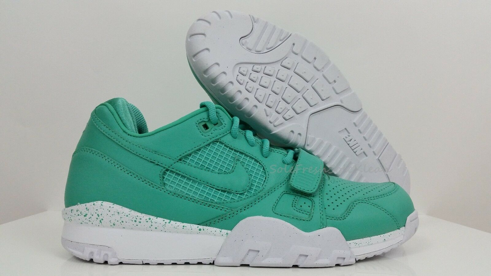 NEW DS NIKE AIR TRAINER TRAINER TRAINER 2 II PREMIUM QS crystal mint mid low 708459-300 Dimensione 11 1f12b2