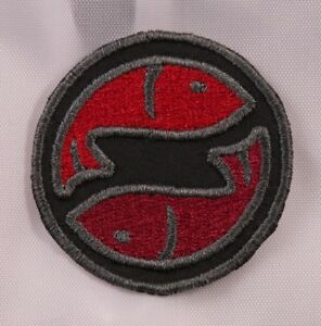 Embroidered-Horoscope-Astrology-Red-amp-Black-Pisces-Fish-Sign-Patch-Iron-On-Sew