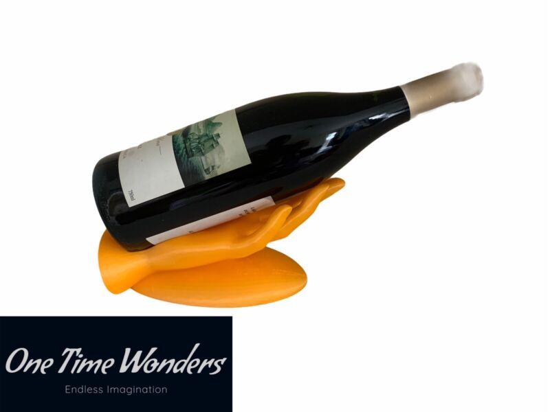 Wine Bottle Hand Stand