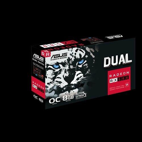 ASUS Radeon RX 580 Dual Series OC 8GB Video Card